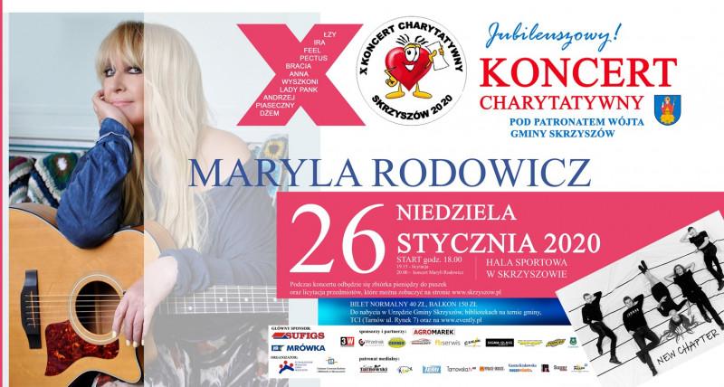 X Koncert Charytatywny - Gmina Skrzyszów