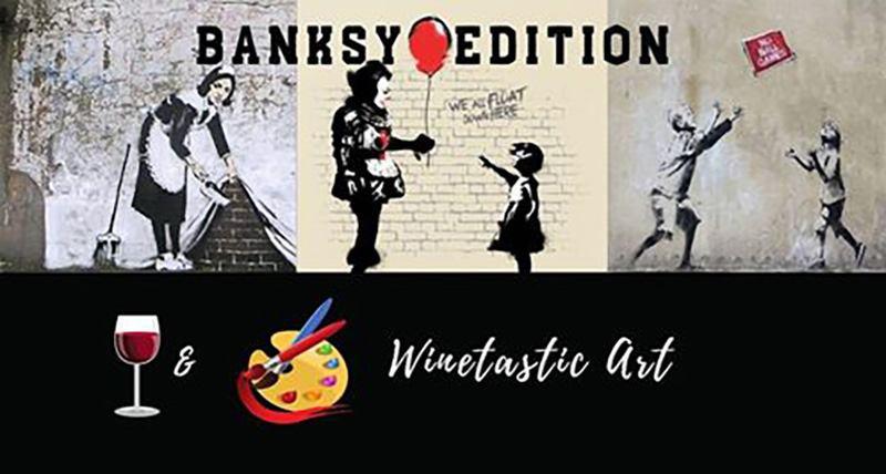 Winetastic Art - Banksy edition
