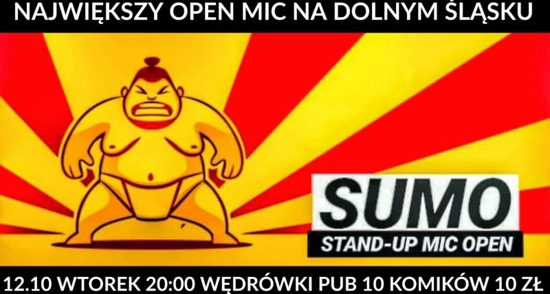 SUMO Stand Up Mic Open 12.10